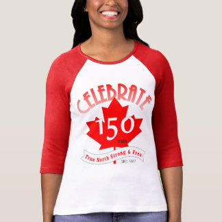 Célébrez le Canada 150 ans T-shirt