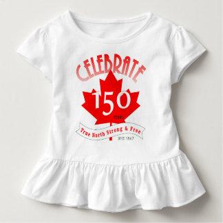 Célébrez le Canada 150 ans T-shirt Pour Les Tous Petits