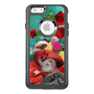 CELEBRITY CAT PRINCESS TATUS, RED HAT WITH PIGEON OtterBox iPhone 6/6S CASE