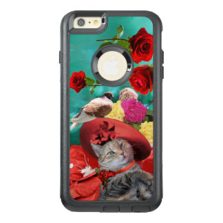 CELEBRITY CAT PRINCESS TATUS, RED HAT WITH PIGEON OtterBox iPhone 6/6S PLUS CASE