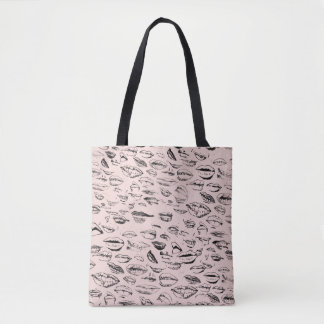 Celebrity Lips Tote