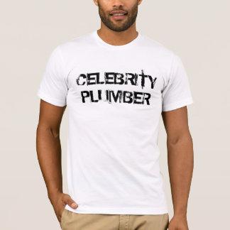 CELEBRITY PLUMBER-Joe Wurzelbacher t-shirt