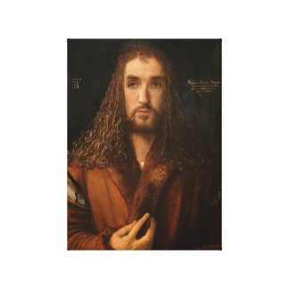 Celebrity Self Portrait as Albrecht Dürer Canvas Print