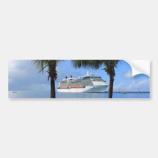 Celebrity Silhouette Cruise to Paradise Bumper Sticker