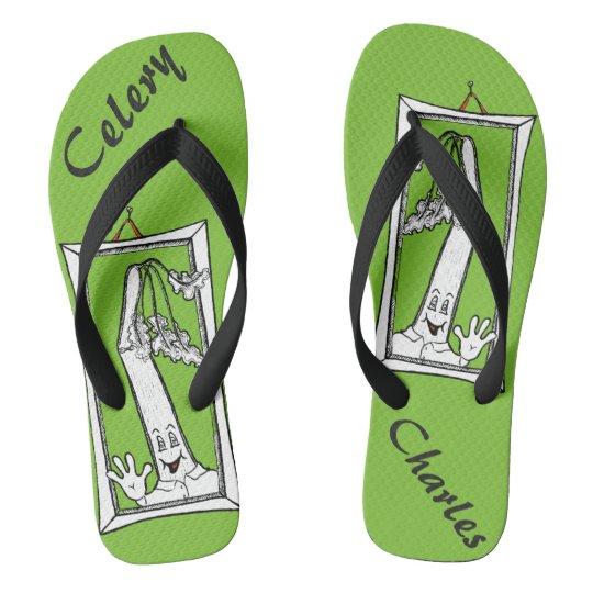Celery Charles Flip Flops