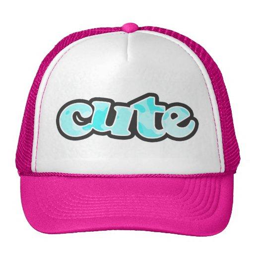 Celeste Camo; Camouflage Hat