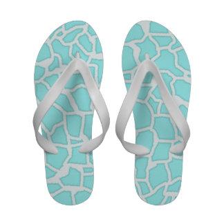 Celeste Giraffe Animal Print Sandals