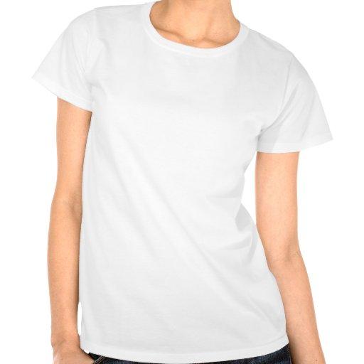 Celeste Horizontal Stripes; Palm Tshirts