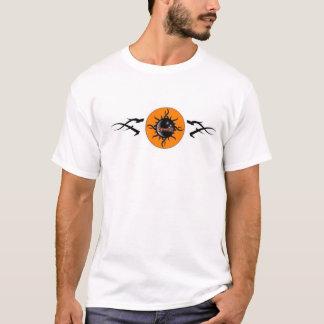 Celestial Band Logo Tee Shirt-White
