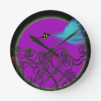 Celestial Battle Round Clock