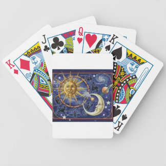 celestial bicycle playing cards