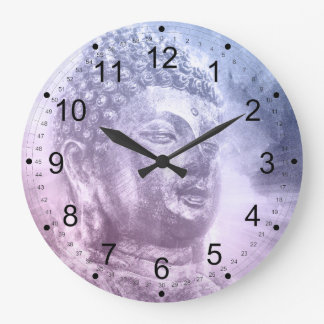 Celestial Buddha Large Clock
