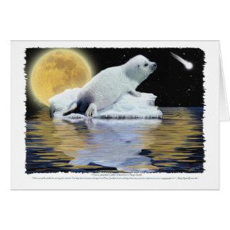 CELESTIAL CHILD HARP SEAL Card