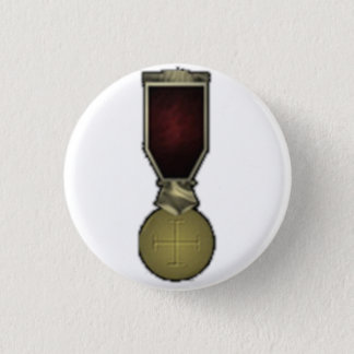 Celestial Cross 1 Inch Round Button