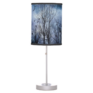 Celestial Crow Night Table Lamp