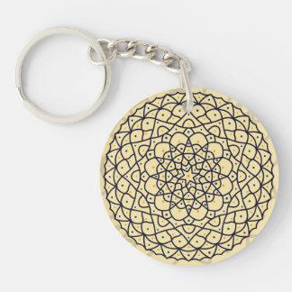 Celestial Day Acrylic Keychain