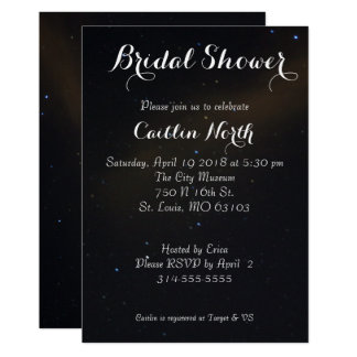 Celestial Dreams Bridal Shower Card