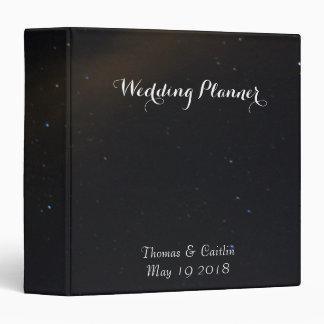 Celestial Dreams Wedding Planner 3 Ring Binder