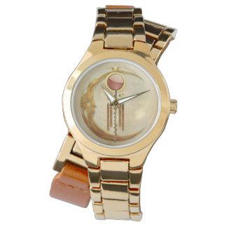 Celestial Elegance 3D New Age Wrist Watch