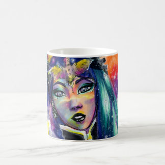 Celestial Fantasy Girl Coffee Mug