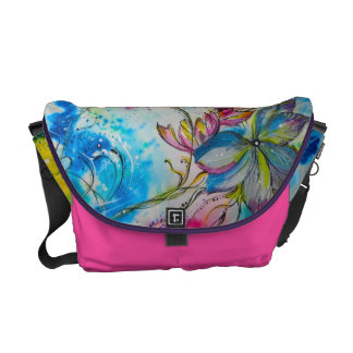 Celestial Flowers Courier Bag