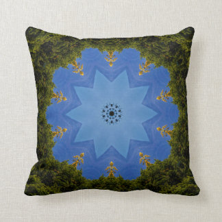 Celestial Garden. Throw Pillow