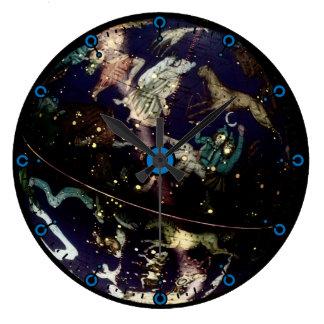 Celestial Globe Modern Wall Clock