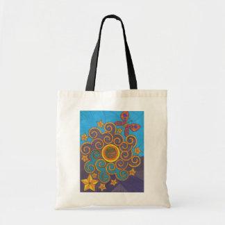 Celestial Indie Art Tote Bag