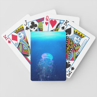 Celestial Jellyfish Bicycle Playing Cards