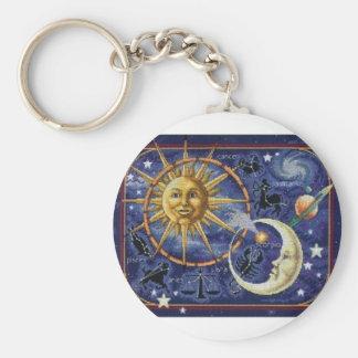 celestial keychain