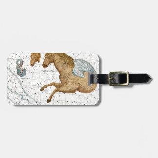 Celestial Map Pegasus Luggage Tag