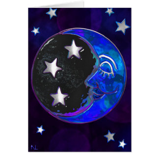 Celestial Momments Bohemian Folk BLANK ALL Sizes Card