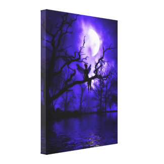 Celestial Night Wrapped Canvas