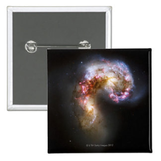Celestial Objects 5 2 Inch Square Button