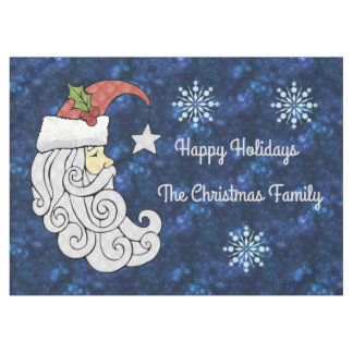 Celestial Santa Tablecloth