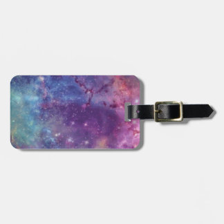 Celestial Sky - Blue & Purple Luggage Tag