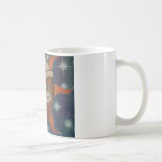 Celestial Sock Monkeys Classic White Coffee Mug
