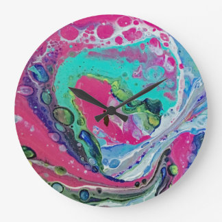Celestial Spaces Wall Clock