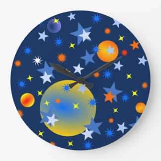 Celestial Stars and Planets Clocks