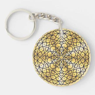 Celestial Sun Acrylic Keychain