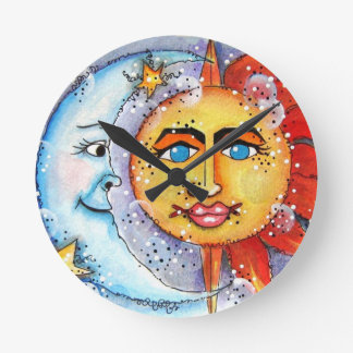 Celestial Sun and Moon Clock