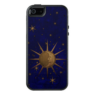 Celestial Sun Moon Brass Bas Relief Graphic OtterBox iPhone 5/5s/SE Case