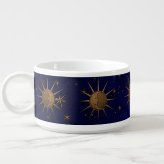 Celestial Sun Moon Starry Night Bowl