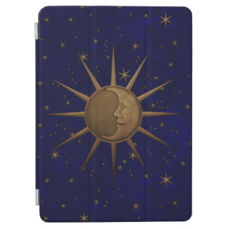 Celestial Sun Moon Starry Night iPad Air Cover
