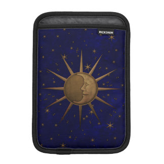 Celestial Sun Moon Starry Night iPad Mini Sleeve