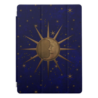 Celestial Sun Moon Starry Night iPad Pro Cover