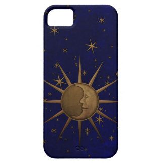 Celestial Sun Moon Starry Night iPhone 5 Cases