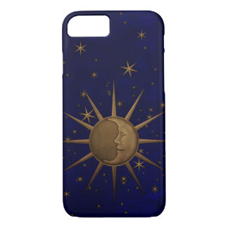 Celestial Sun Moon Starry Night iPhone 8/7 Case