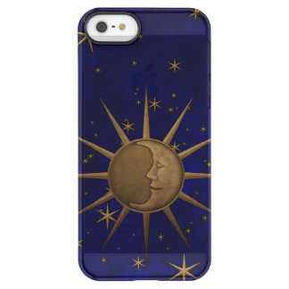Celestial Sun Moon Starry Night Permafrost® iPhone SE/5/5s Case