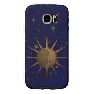 Celestial Sun Moon Starry Night Samsung Galaxy S6 Case